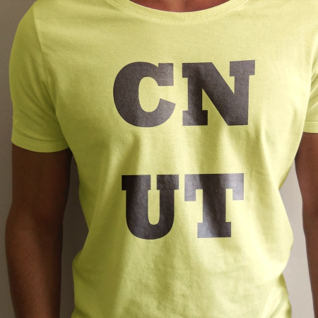 Yellow CNUT T-shirt