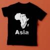Asia - Black T-Shirt