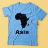 Asia - Blue T-Shirt