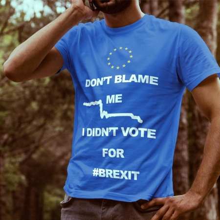 Don't blame me I didn't vote brexit